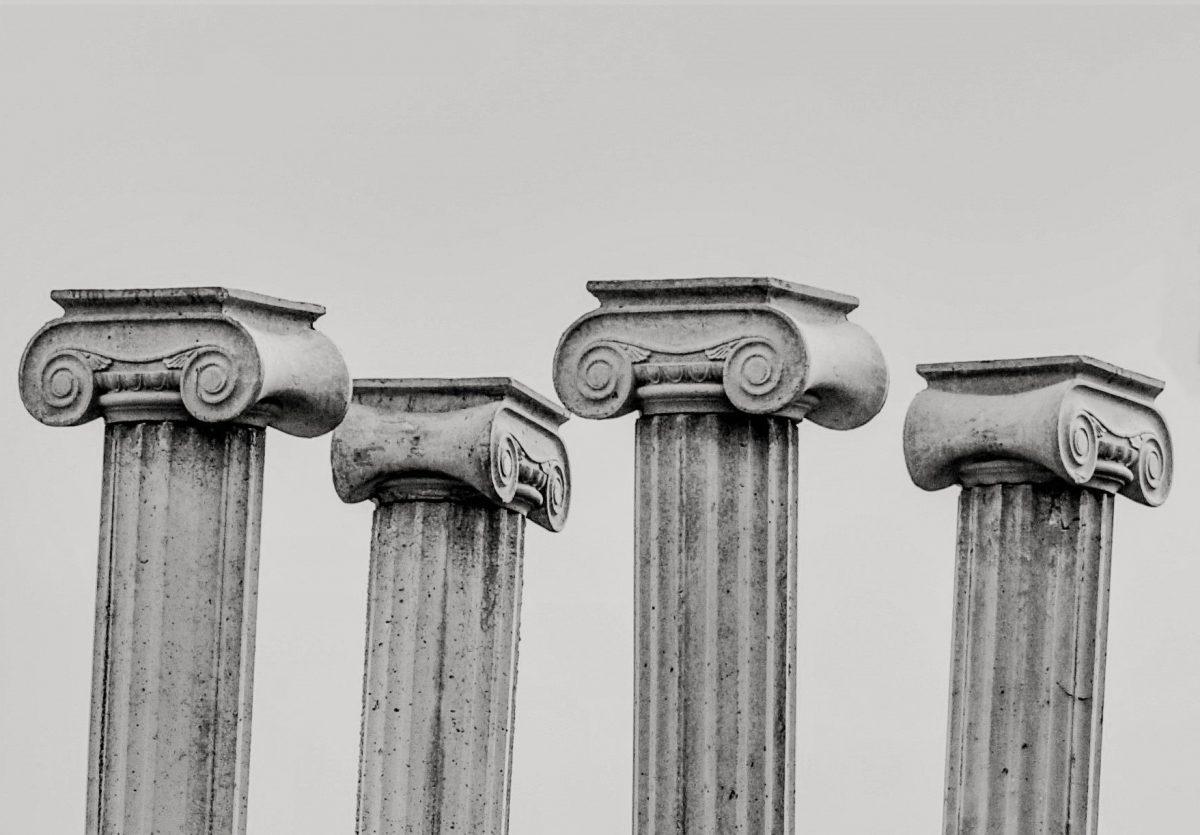 4 Säulen, die meine Karriere tragen